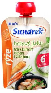 Sunárek Meal pouch - Rýže s kuřecím masem a zeleninou
