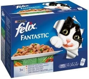 Felix Fantastic výběr se zeleninou 12x100g