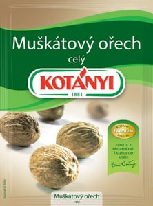 Kotányi Muškátový ořech celý