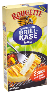 Rougette Cremiger Grill-Käse natur (2x90g)