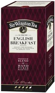 Sir Winston Tea Supreme English Breakfast černý čaj