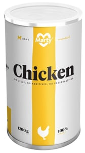 Marty konzerva pro psy ze 100% masa - kuře