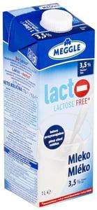 Meggle Trvanlivé bezlaktózové mléko plnotučné 3,5%