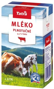 Tatra trvanlivé mléko plnotučné 3,5%