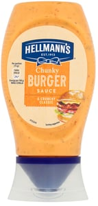 Hellmann's Omáčka k masu Chunky burger