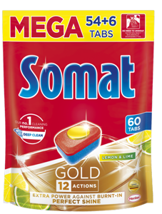 Somat Gold Lemon&Lime tablety do myčky