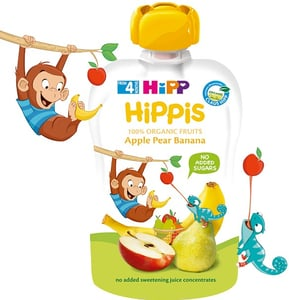 HiPP BIO Kapsička Hippis jablko-hruška-banán