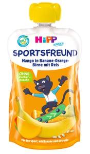 HiPP BIO Kapsička Sport hruška-pomeranč-mango-banán-rýže