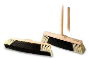 Cleanex Trade Smeták dřevěný se závitem, 35cm + násada