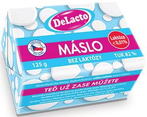 Delacto Máslo se sníženým obsahem laktózy
