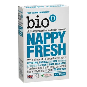 Bio-D BIO Odstraňovač skvrn a dezinfekce plenek (500g)
