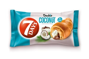 7Days Croissant double kakao+kokos