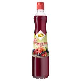 YO Multivitaminový sirup z více druhů červeného ovoce