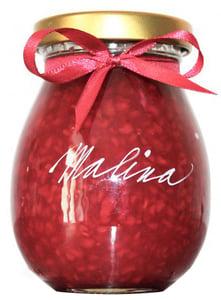 Marmelády s příběhem Malinový extra džem výběrový