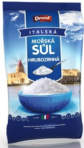 Druid Mořská sůl hrubozrnná (sáček)