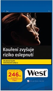 West Blue cigaretový tabák