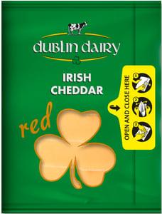 Dublin Dairy Irish cheddar red plátky