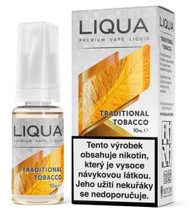 Liqua Traditional Tobacco 0mg CZ