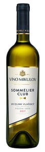 Víno Mikulov Sommelier Club Ryzlink vlašský pozdní sběr