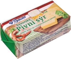 Bauer Pivní sýr se sníženým obsahem laktózy