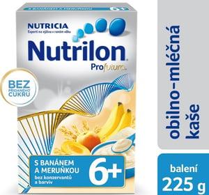 Nutrilon Profutura 6+ mléčná kaše krupicová s banánem a meruňkou