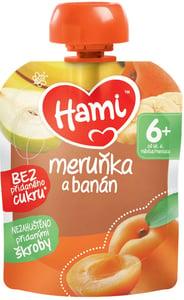 Hami kapsička Meruňka, banán a hruška, 6+
