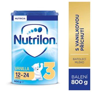 Nutrilon 3 Vanilka batolecí mléko, 12-24 měsíců