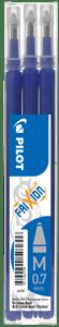PilotNáplň pro FriXion 05 modrá 3 ks
