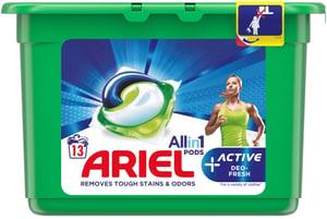 Ariel Active Sport All in 1 gelové kapsle 13ks