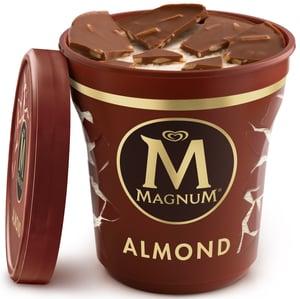 Magnum Almond zmrzlina v kelímku