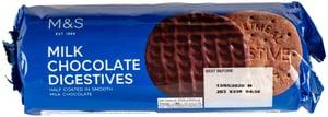 Marks & Spencer Sušenky Digestives s mléčnou čokoládou