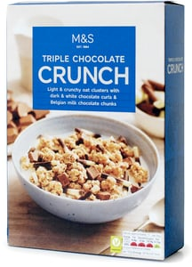 Marks & Spencer Triple Chocolate Crunch