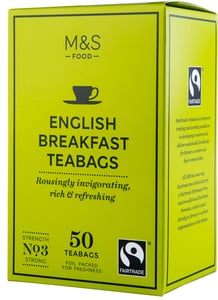 Marks & Spencer Černý čaj English Breakfast