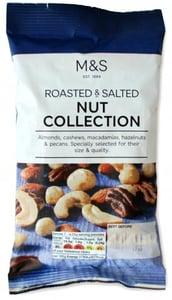 Marks & Spencer Směs pražených a solených ořechů
