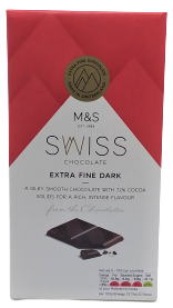 Marks & Spencer Švýcarská hořká čokoláda