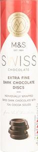 Marks & Spencer Kolečka ze švýcarské hořké čokolády
