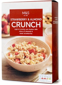 Marks & Spencer Strawberry & Almond Crunch