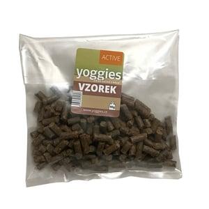 VZOREK: Yoggies Active kachna a jelen - minigranule s laktobacily pro malá plemena a štěňata 1ks