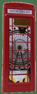 Marks & Spencer Skotské máslové sušenky - telefonní budka