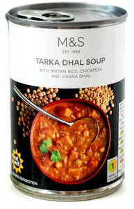 Marks & Spencer Kořeněná zeleninová polévka Tarka Dahl