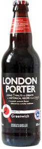Marks & Spencer Tmavé pivo London Porter