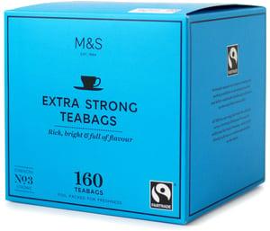 Marks & Spencer Porcovaný extra silný černý čaj