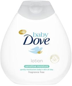Baby Dove Sensitive Hydratační tělové mléko pro děti