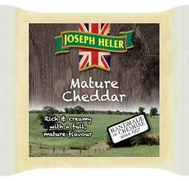 Joseph Heler Cheddar White Mature - 7 měsíců.