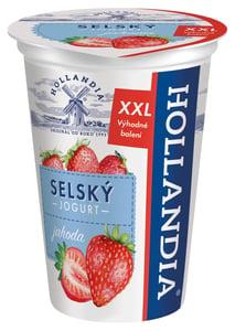 Hollandia Selský jogurt jahoda