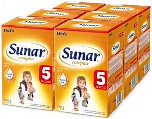 Sunar Complex 5, 6x600g + 2x dárek