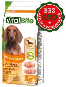 VitalBite granule freshmeat pes malá a střední plemena