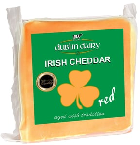 Dublin Dairy Irish cheddar red bloček