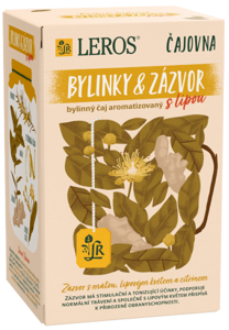 LEROS Čajovna Bylinky & zázvor s lípou a citronem