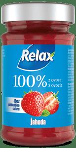 Relax 100% ovoce jahoda